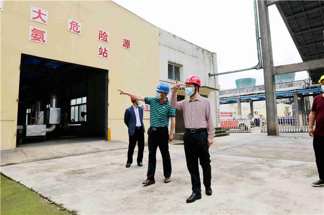 市委书记张世敏到公司检查安全生产工作