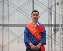 当阳十大金牌工人--公司员工 贾光明