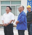 当阳市委书记郑廷贵来公司指导工作