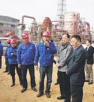 湖北省发改委主任李乐成在公司调研工作
