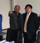 铜化集团董事长、总经理陈嘉生,六国化工总经理方劲松等到公司调研指导工作