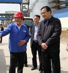 宜昌市委副书记、市长马旭明在公司视察工作